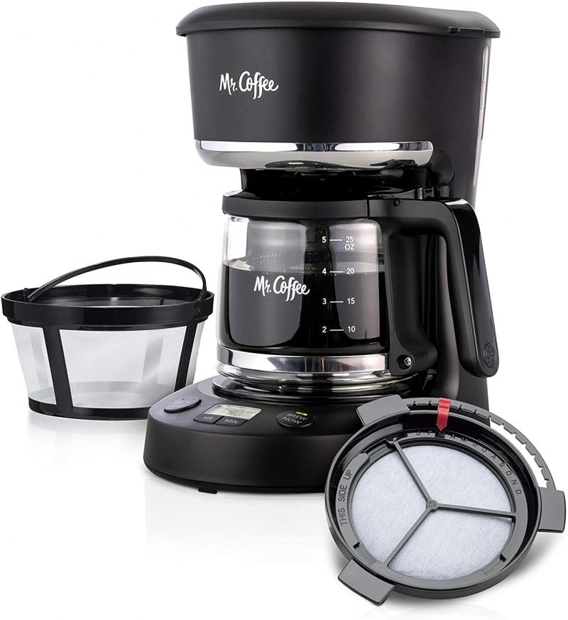 9. Mr. Coffee 5 Cup Mini Coffee Maker