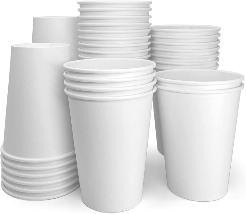 9. Papernain Hot Paper Disposable Coffee Cup