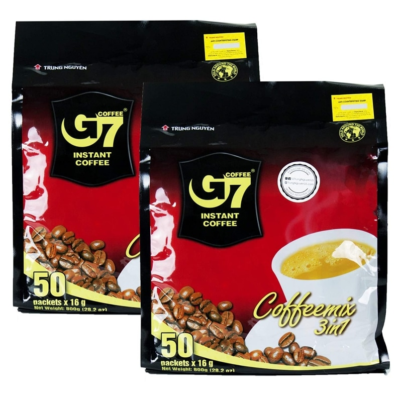 9. Trung Nguyen G7 Instant Coffee 3 In 1