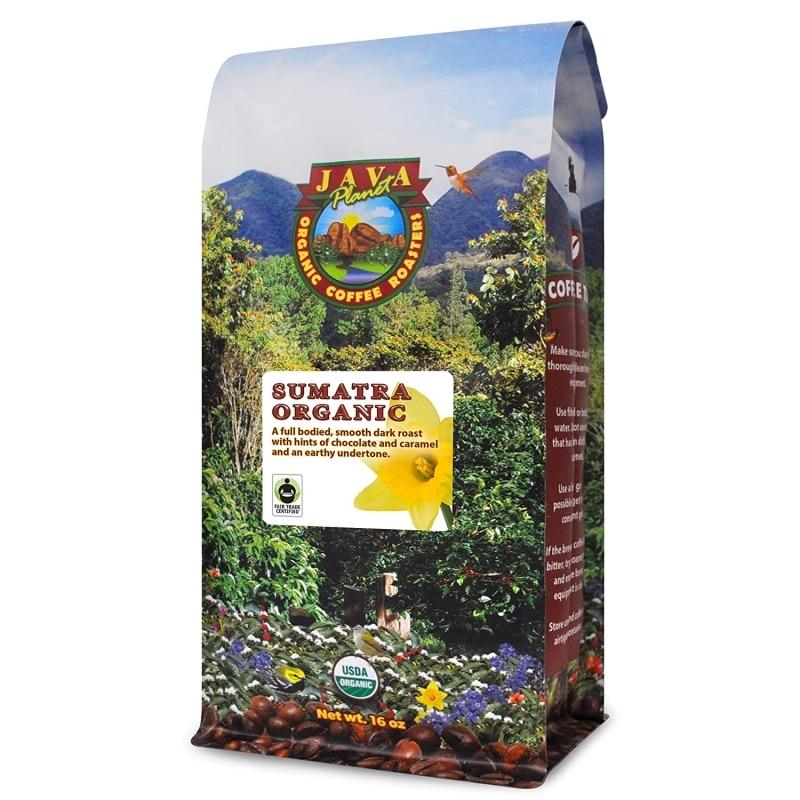 9. Java Planet, Organic Coffee Beans