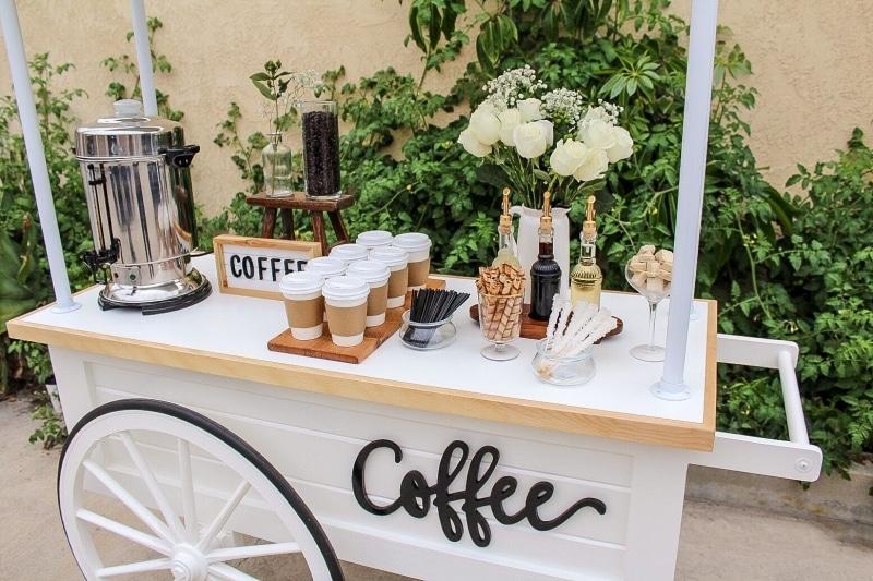 3. Rent a Coffee Cart 1