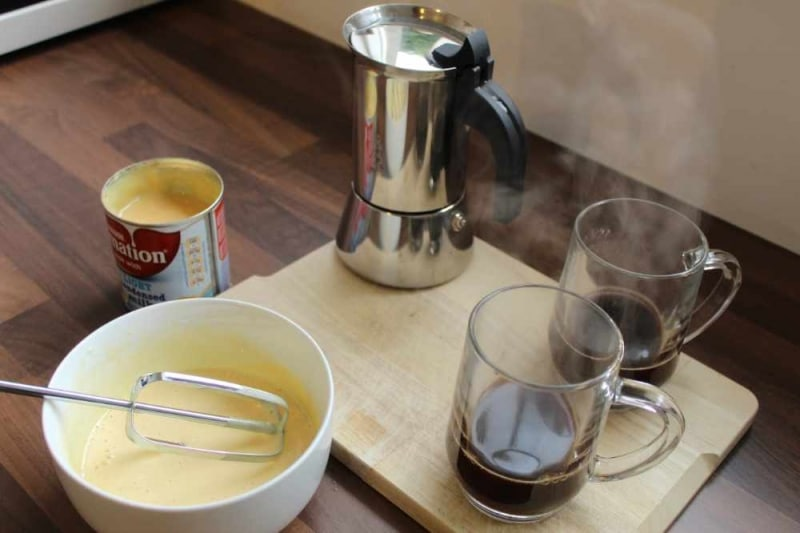 How is Spanish latte different from other coffee?