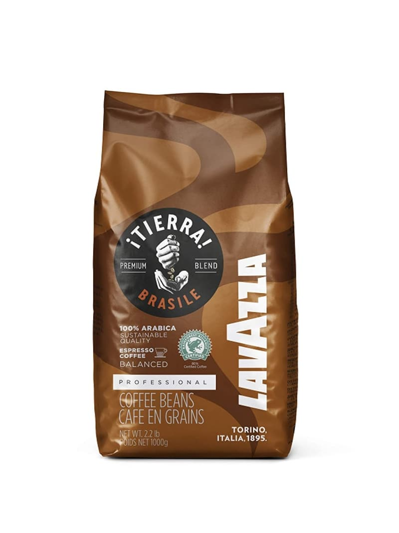 1. Lavazza TIERRA! Brasile Whole Bean Espresso Blend