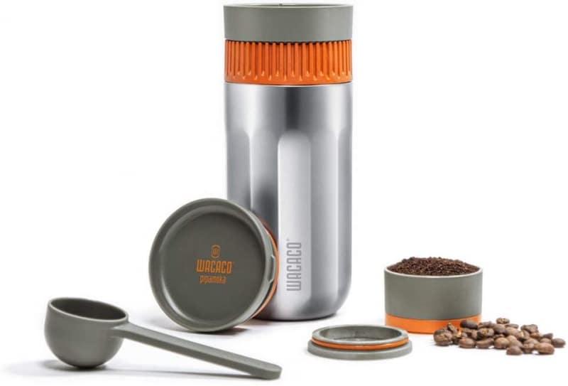 1. WACACO Pipamoka Portable Coffee Maker