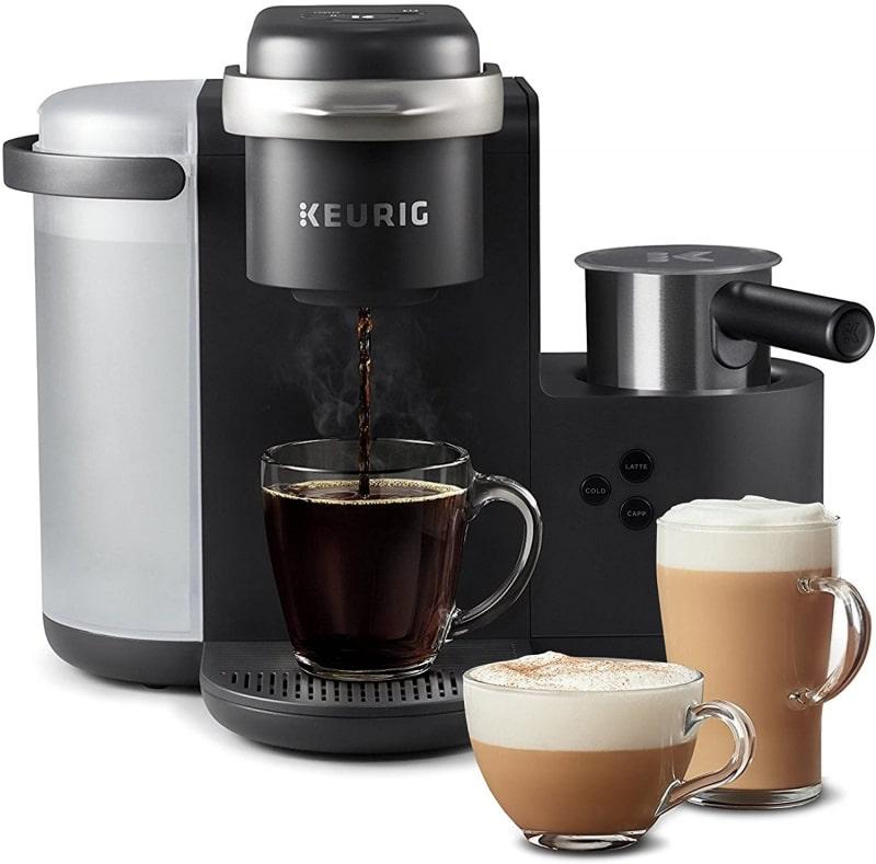 1. Keurig K-Cafe Single-Serve K-Cup Coffee Maker