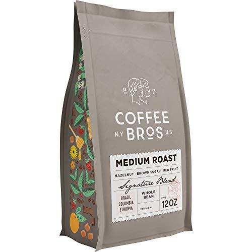 10. Coffee Bros Medium Roast Whole Beans