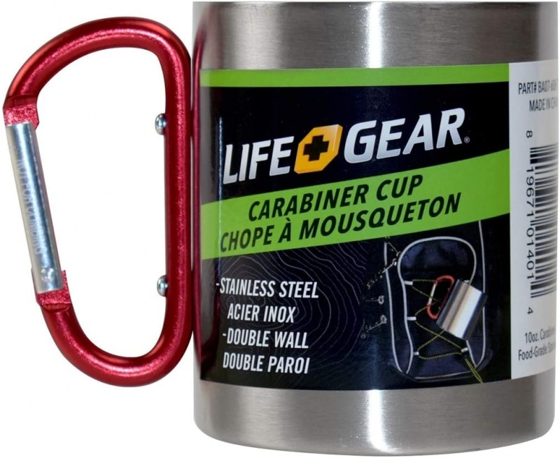10. Life Gear Stainless Steel Double Walled Mug