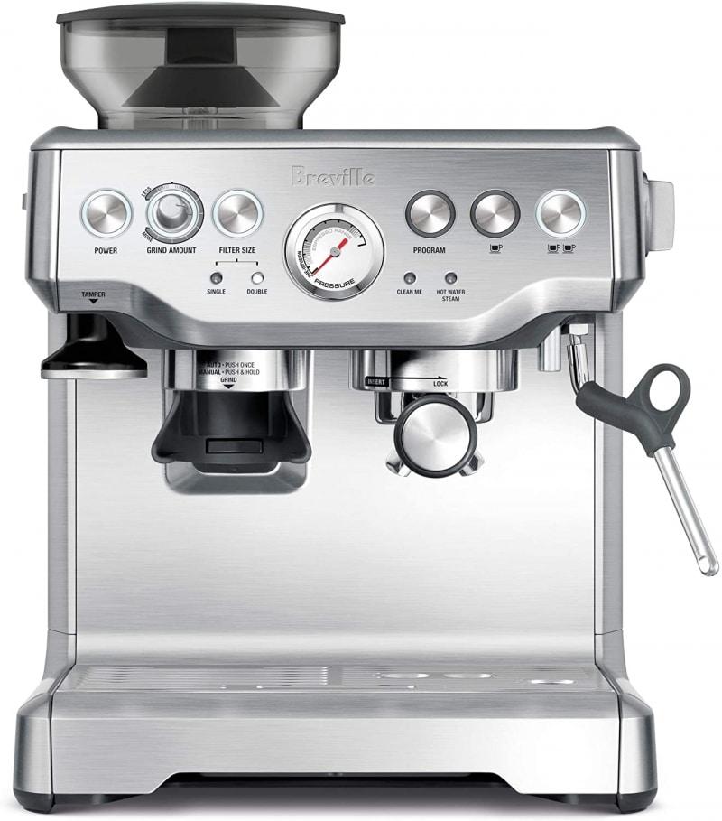 11. Breville BES870XL Barista Express Espresso Machine