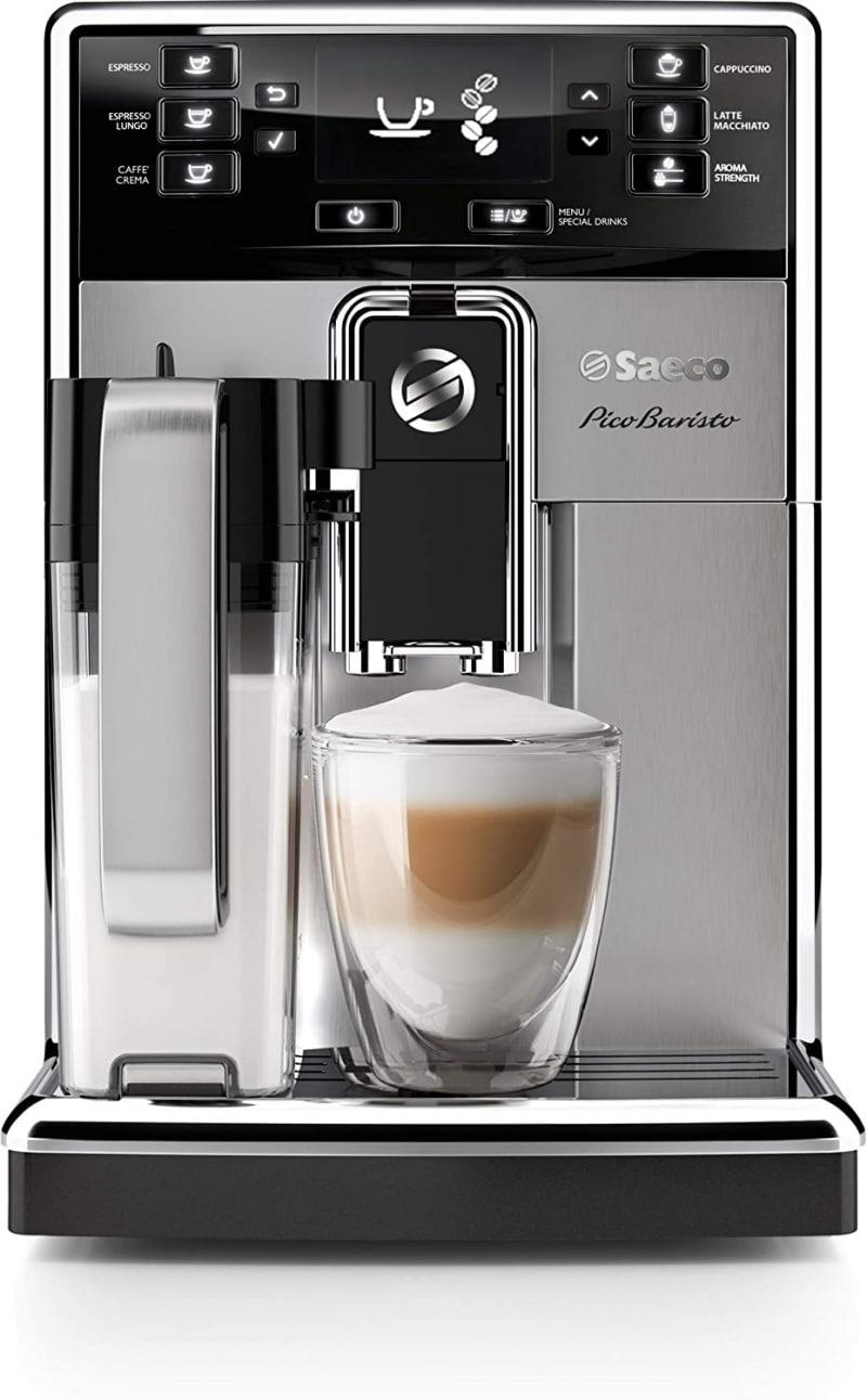 12. Saeco PicoBaristo Super Automatic Espresso Machine