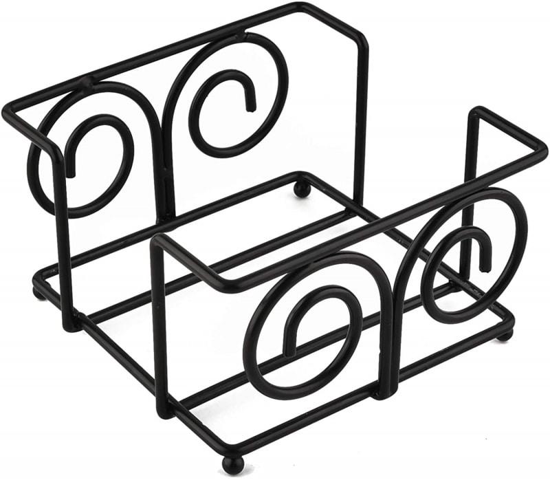13. QBOSO Vintage Coaster Holder