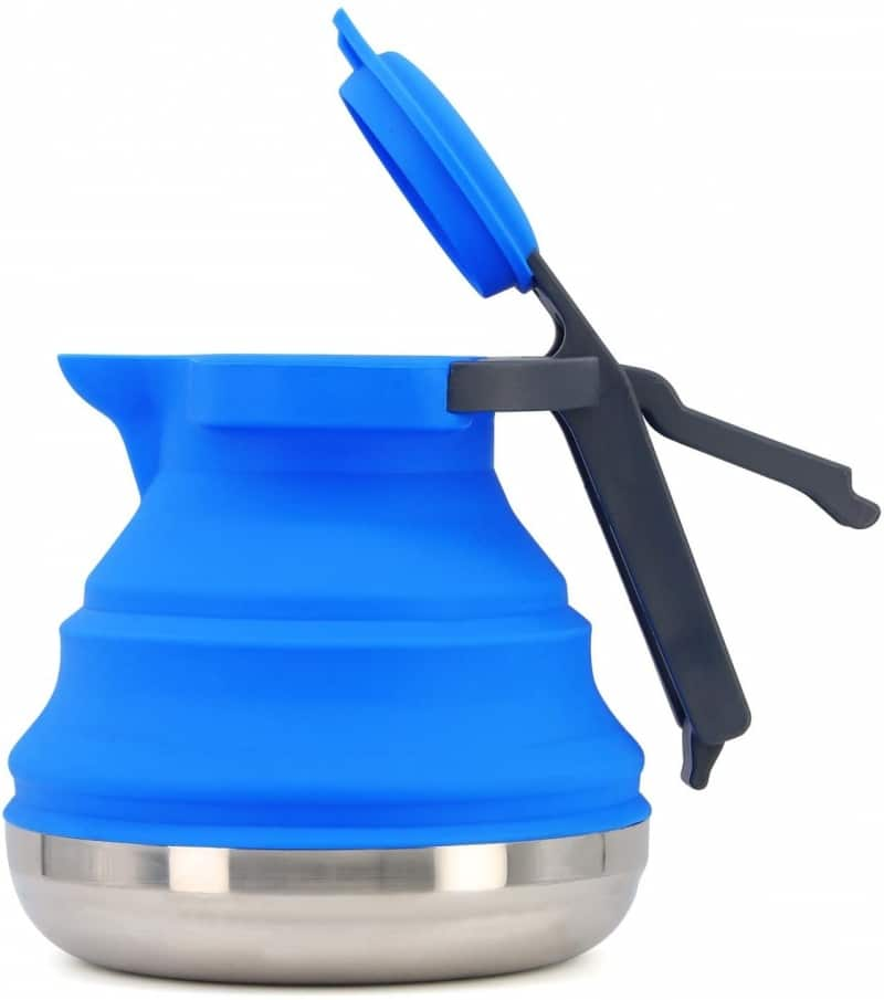 15. Collapsible Camping Kettle
