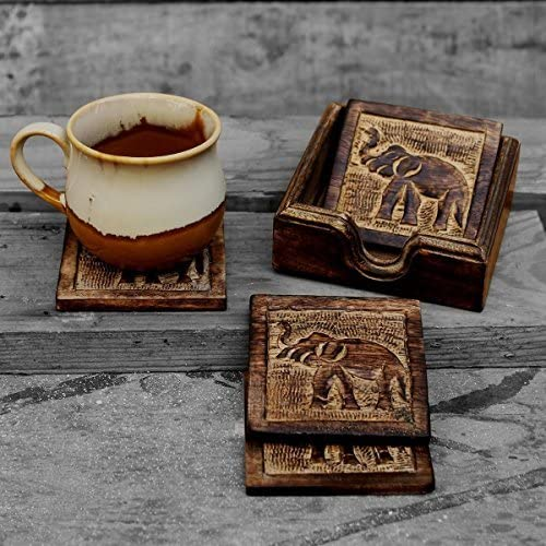 2. STORE INDYA Coffee Cup Coaster