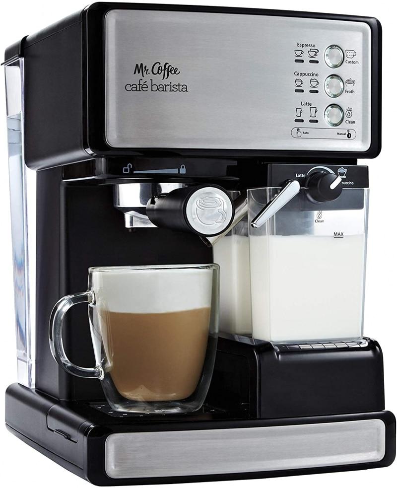 3. Mr. Coffee Espresso and Cappuccino Maker