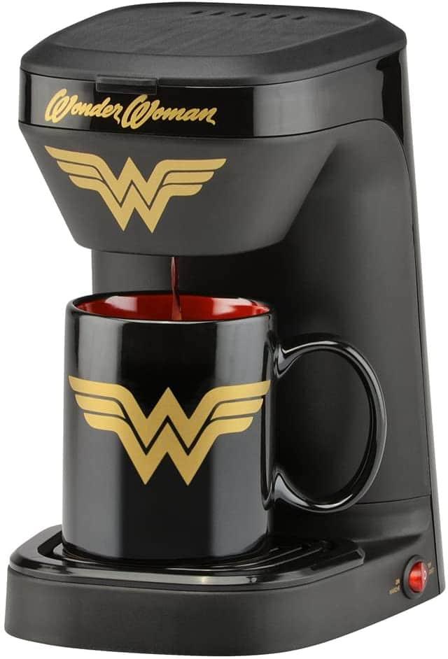 4. DC Wonder Woman Coffee Maker