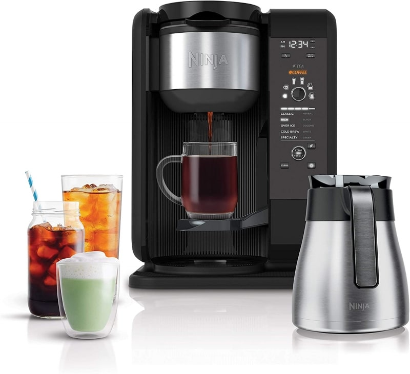 4. Ninja CP307 Hot and Cold Brewed System