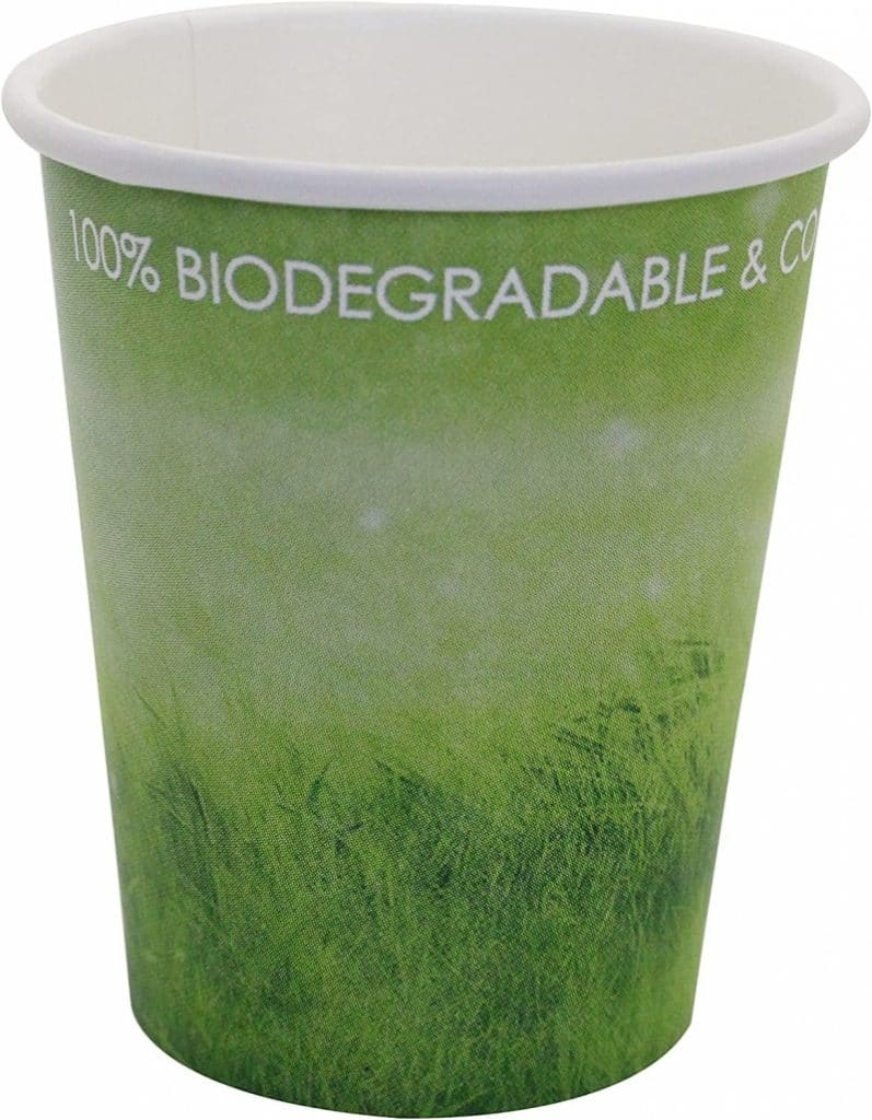 5. Special Green Grass Design, Disposable Hot Paper Cup