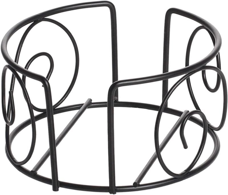 7. LIFVER Metal Coaster Holder