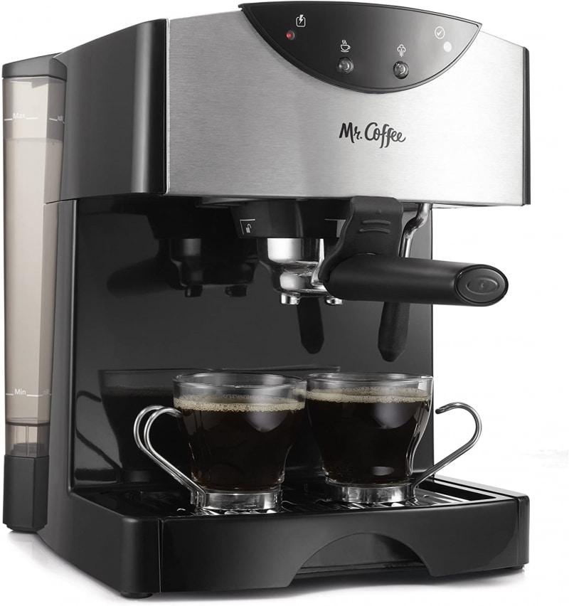 7. Mr. Coffee Automatic Dual Shot Espresso