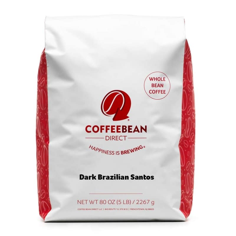 8. Dark Brazilian Santos by Coffee Bean Direct