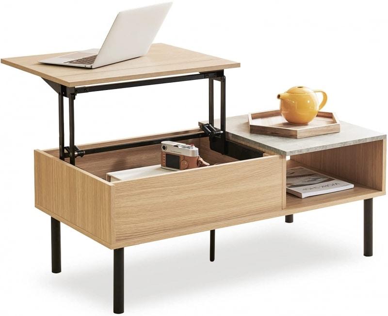 9. Harmati Lift Top Coffee Table with Storage