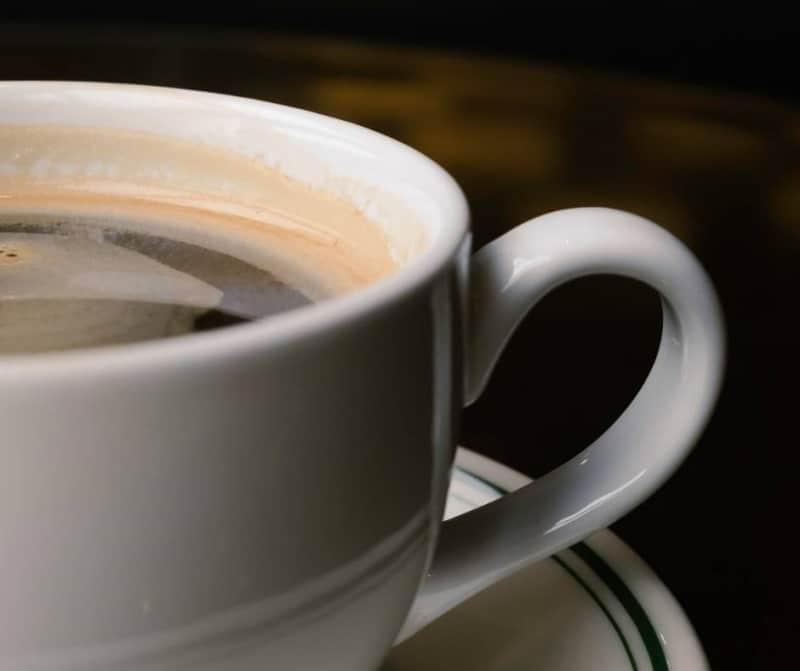 Caffeine in Long Black