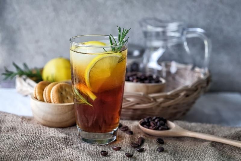 Citrusy Lemon Latte Recipe
