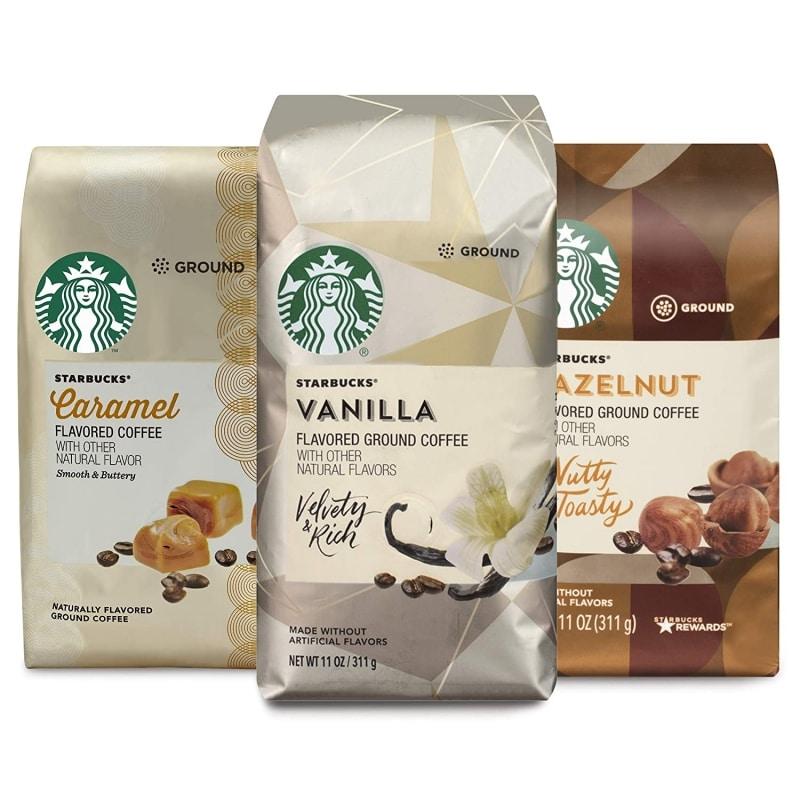 1. Starbucks Flavored Ground Coffee