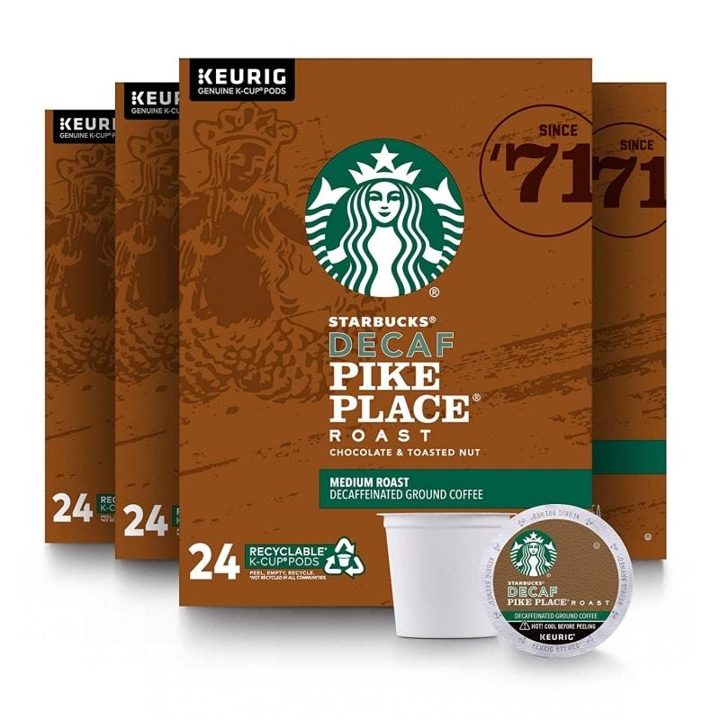 12. Starbucks Decaf Pike Place Roast