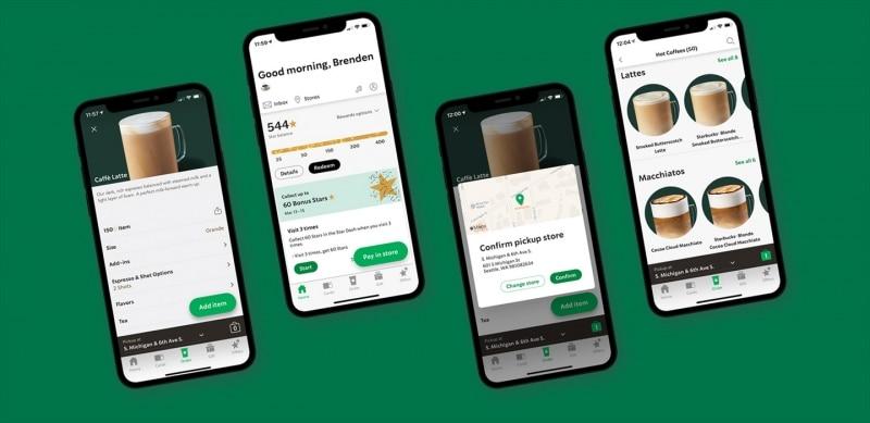 Starbucks Mobile Phone App