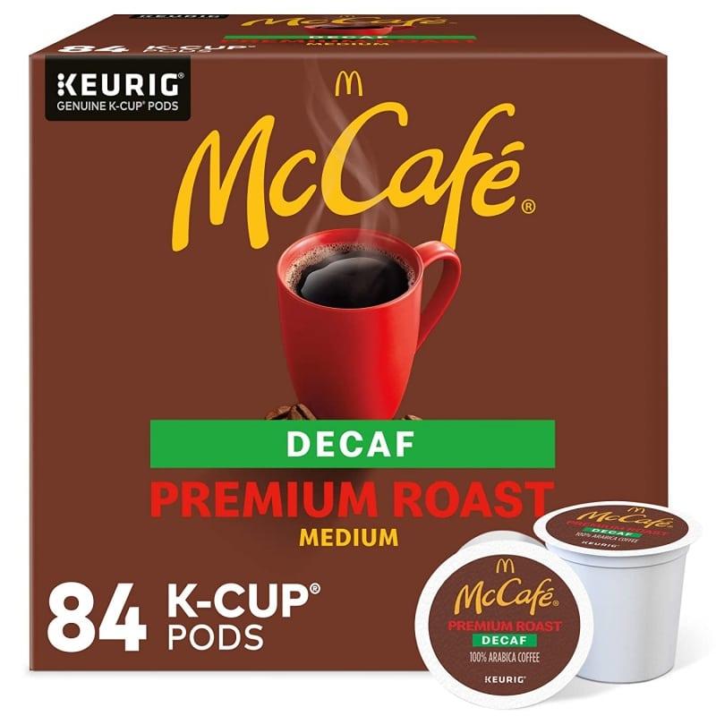 2. McCafe Premium Roast Decaf