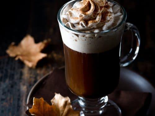 2. Pumpkin Spice Irish Coffee
