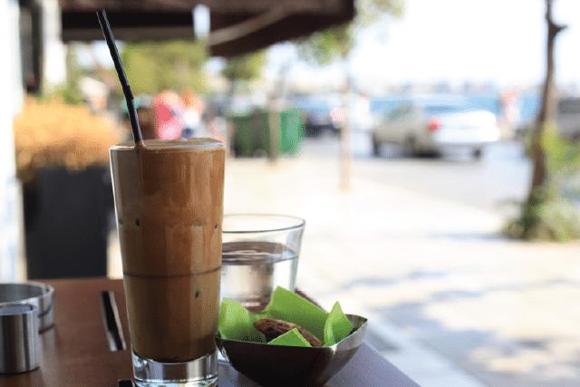 Origin of Coffee Greek Frappe