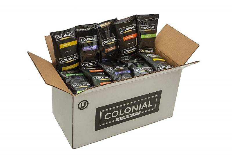4. Colonial Coffee Assorted Ground Coffee