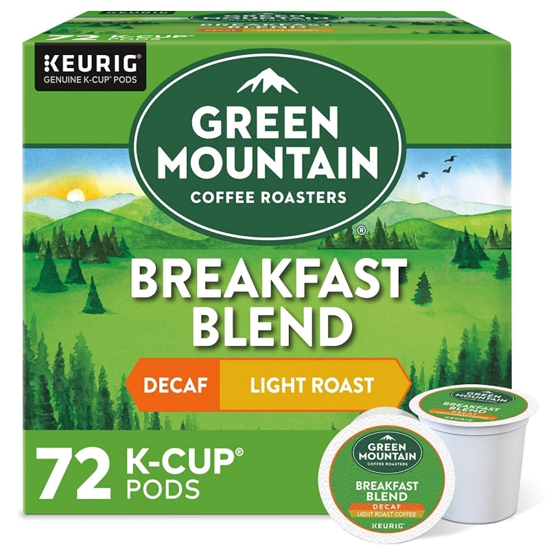 4. Green Mountain Coffee Roaster, Light Roast Coffee