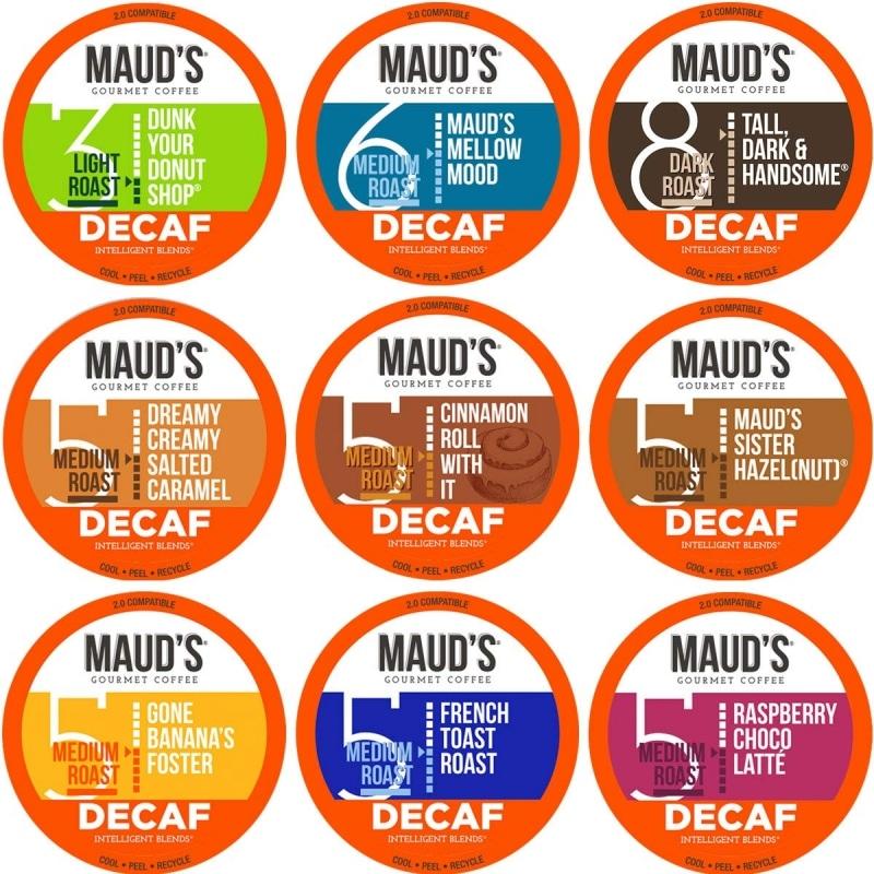5. 100% Arabica Decaffeinated Coffee From Maud's