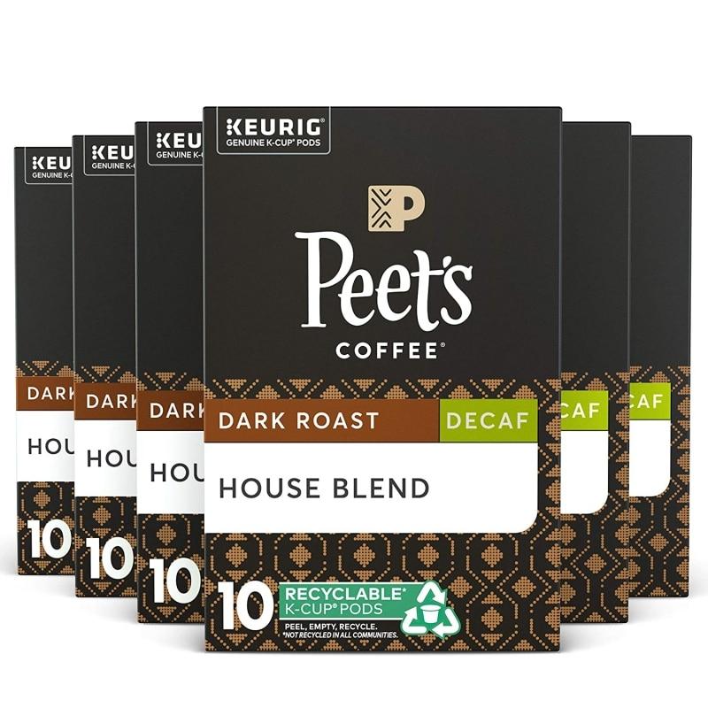 6. Peet's Coffee, Best Decaf Coffee, Dark Roast