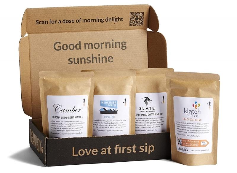 7. Bean Box - Gourmet Coffee Sampler
