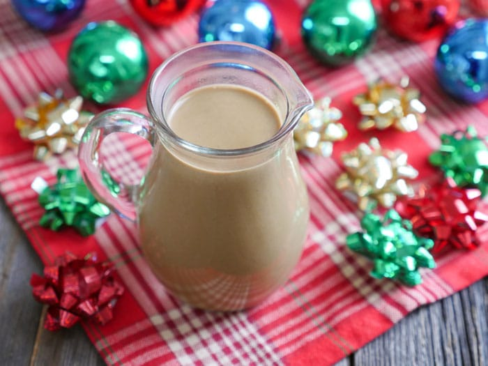 Dairy-Free Version Of Gingerbread Coffee Creamer