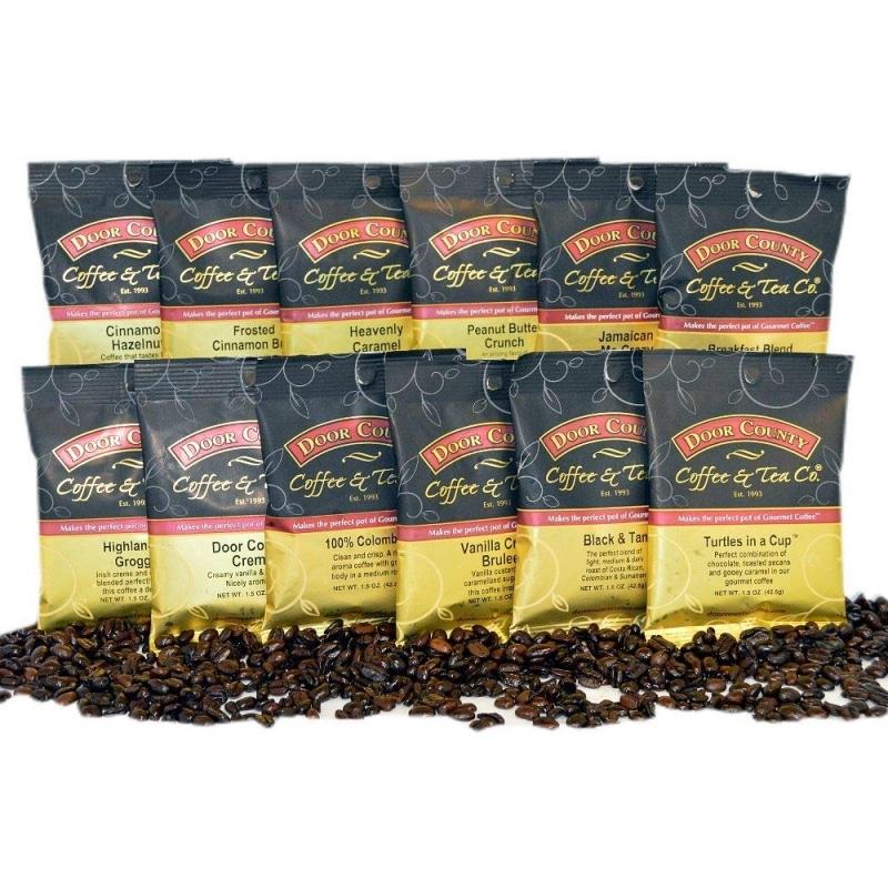 8. Door County Coffee Sampler Pack