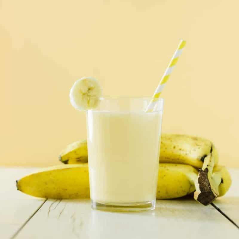 3. Banana Milk