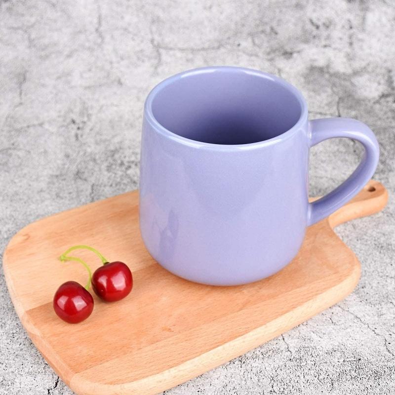 5. Bosmarlin Large Glossy Ceramic Coffee Mug