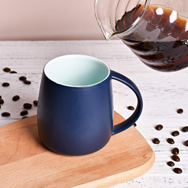 6. Bosmarlin Matte Ceramic Coffee Mug