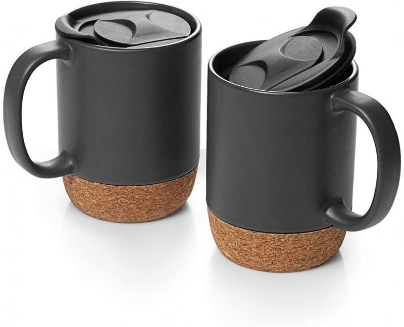 3. DOWAN 15 oz Coffee Mug Sets