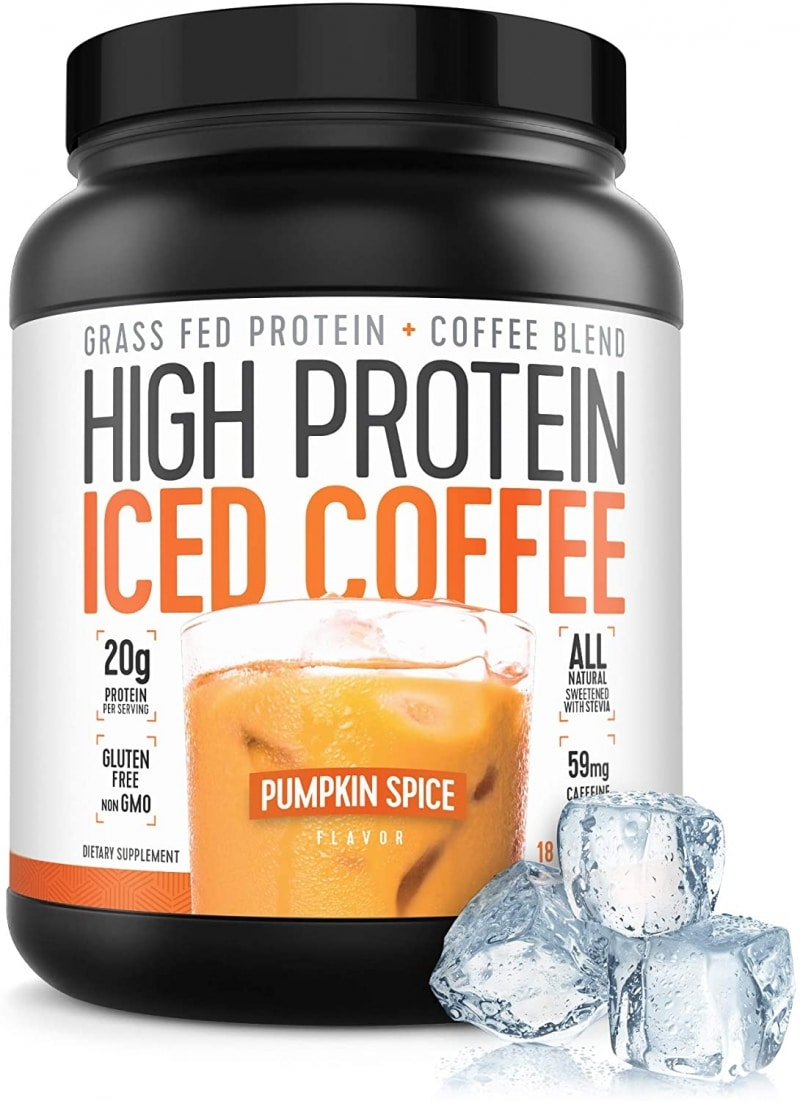 6. High Protein Coffee Iced Coffee