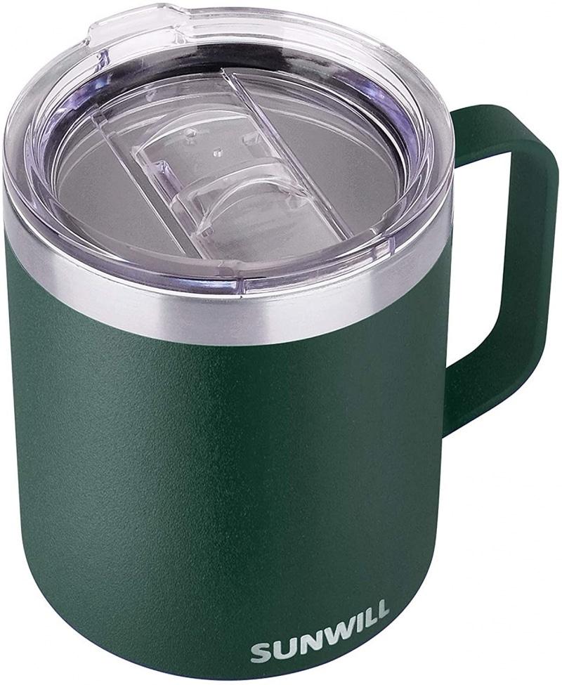 1. SUNWILL Coffee Mug with Handle