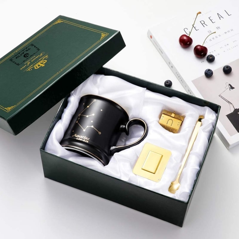 8. Tilany Ceramic Coffee Mug With Constellation Design